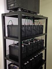 Banco baterias estacionarias