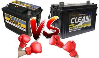 Imagem baterias estacionarias vs automotivas